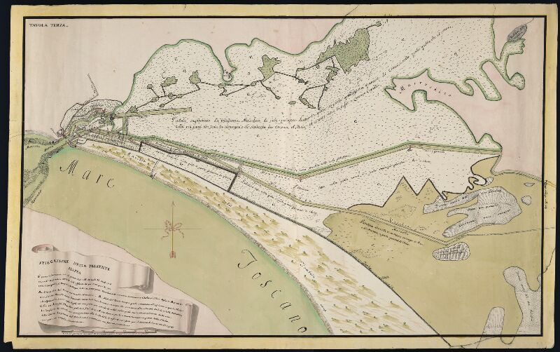 Cartografia storica regionale scheda dettaglio - Tavole maree castiglione della pescaia ...